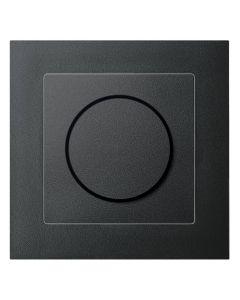 Draaidimmer Druk-Wissel-Schakelaar Compleet - Antraciet - M-Pure
