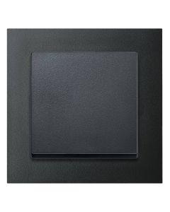 Kruisschakelaar Antraciet - Merten M-Pure