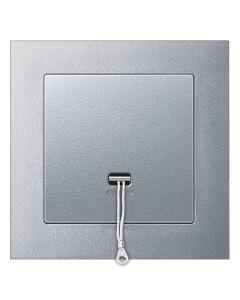 Trekschakelaar Compleet - Aluminium - Merten M-Pure