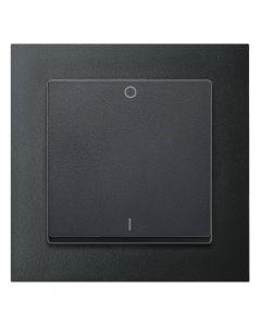 Tweepolige Schakelaar Compleet - Antraciet - Merten M-Pure