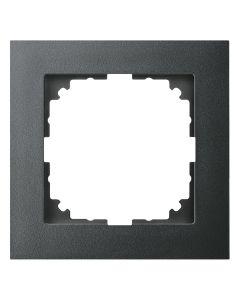 Afdekraam M-Pure 1-voudig - Kunststof Antraciet - Systeem M