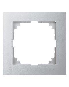 Afdekraam M-Pure 1-voudig - Kunststof Aluminium - Systeem M