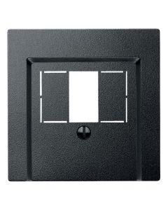 Inzetstuk HDMI - Antraciet - Systeem M