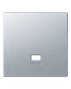 Inzetstuk Trekschakelaar Controlevenster - Aluminium - Systeem M