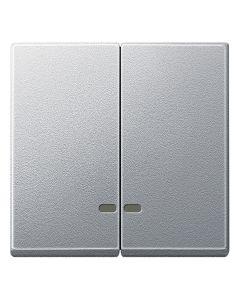 Dubbele Wip Controlevenster - Aluminium - Systeem M