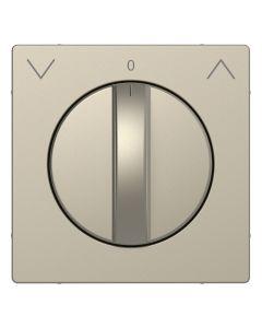 Draaiknop Jaloezieschakelaar - Kunststof - Sahara - Systeem Design