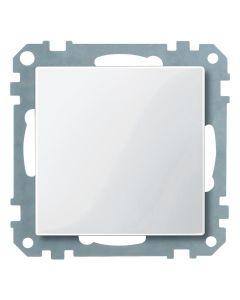 Blindplaat - Polarwit  - Systeem M
