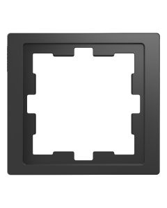 Afdekraam D-Life 1-voudig - Kunststof Antraciet - Systeem Design