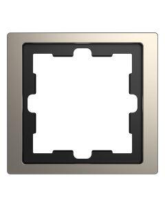 Afdekraam D-Life 1-voudig - Metaal Nikkel - Systeem Design