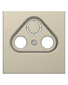 Inzetstuk CAI 2-voudig - Kunststof - Sahara - Systeem Design