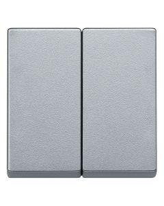 Dubbele Wip - Aluminium - Systeem M