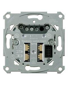 Sokkel - Elektronische Schakelaar 2-draads 2-voudig - Merten