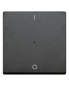 Enkele Wip Impulsdrukker (I/O) - Antraciet - Systeem M