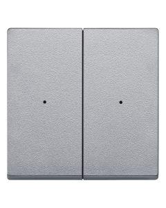 Dubbele Wip Impulsdrukker - Aluminium - Systeem M