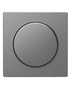 Draaiknop Dimmer - Kunststof - RVS Look - Systeem Design