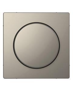 Draaiknop Dimmer - Metaal - Nikkel Metallic - Systeem Design