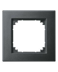 Afdekraam M-Smart 1-voudig - Kunststof Antraciet - Systeem M