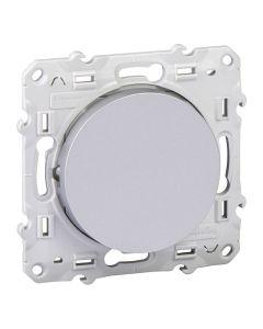 Kruisschakelaar - Aluminium - Odace
