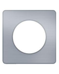 Afdekraam Odace Touch 1-voudig - Aluminium