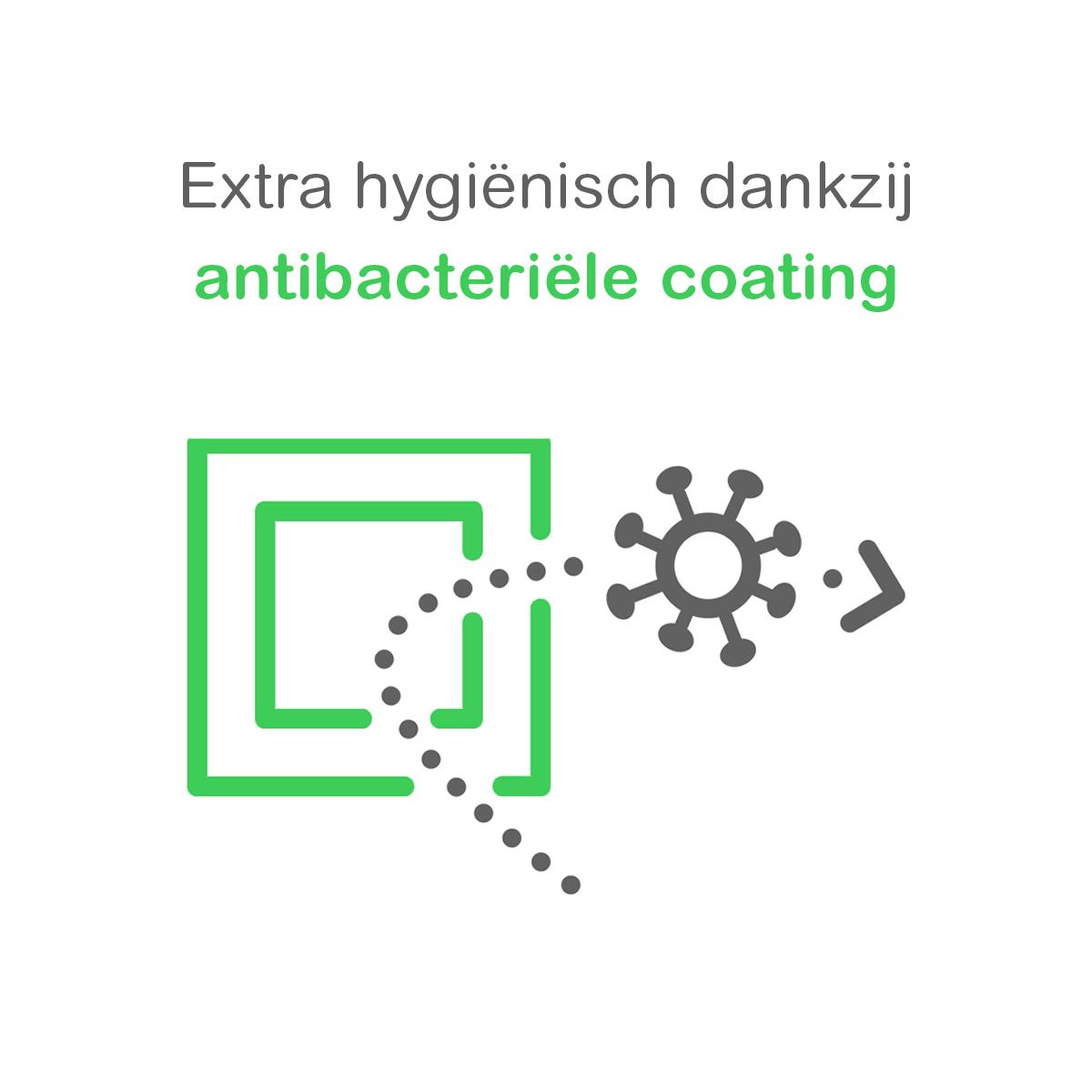 Actief wit hygiënische antibacteriële coating RAL9016