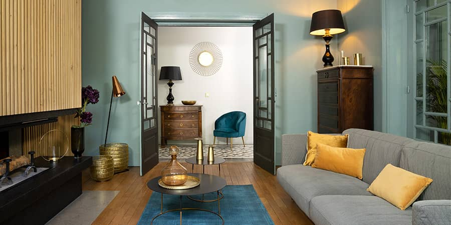 Ambient Vintage woonstijl 2021 interieur met antieke