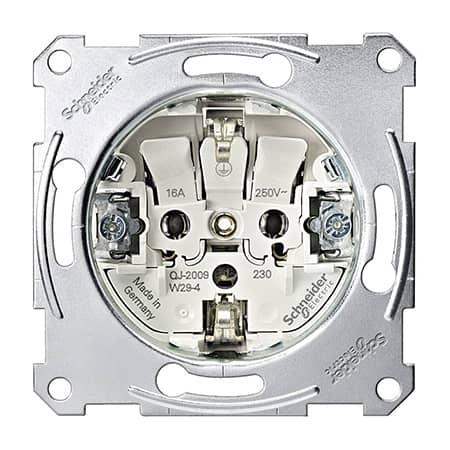 Basiselement stopcontact met randaarde van Schneider Electric