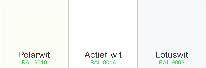 Blog - Merten Actief wit, Polarwit en Lotuswit RAL9010