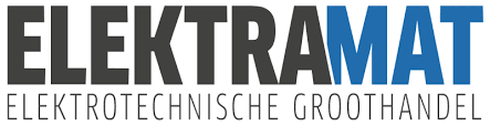 Logo van de groothandel Elektramat, verkooppunt Schneider Electric