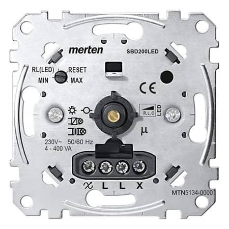 Merten Led-Dimmer MTN5134-0000 Draaiknop Dimmer