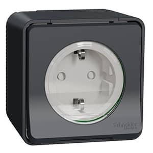 Mureva Styl waterdicht design stopcontact buiten met deksel