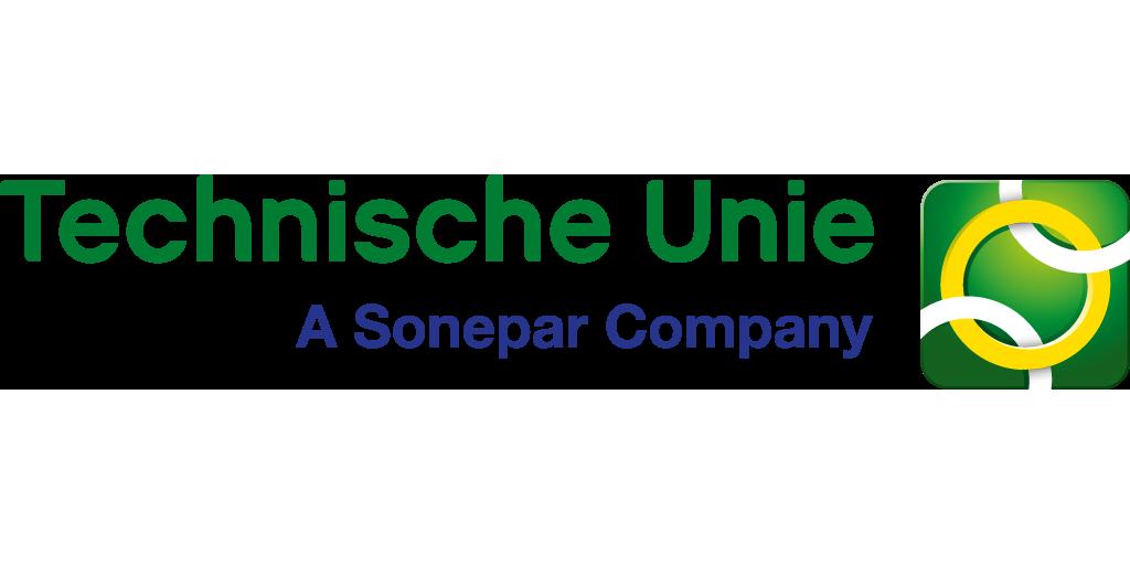 Logo van de groothandel Technische Unie, verkooppunt Schneider Electric